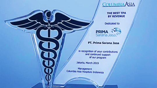 Columbia Asia Hospitals Revenue Award